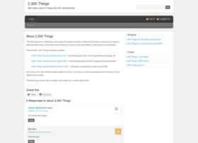 2000things.com