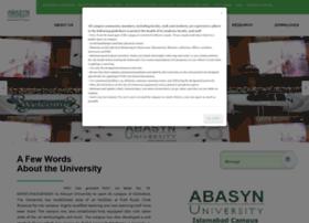 abasynisb.edu.pk