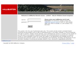 access.halliburton.com