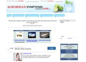 acidrefluxsymptomsnow.com