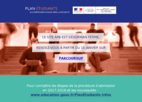 ael.admission-postbac.fr