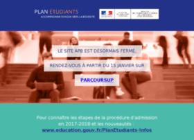 ael.admission-postbac.fr