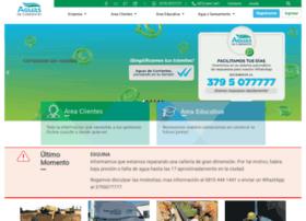 aguasdecorrientes.com