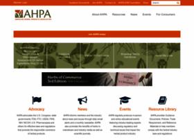 ahpa.org