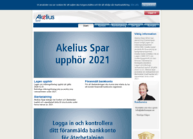 akeliusspar.se