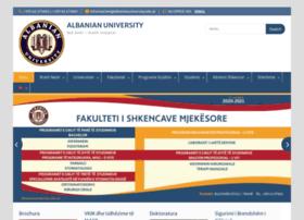 albanianuniversity.al