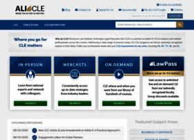ali-cle.org