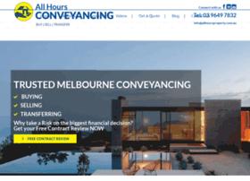 allhoursconveyancing.com.au
