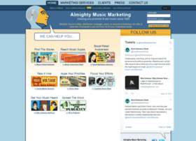 almightymusicmarketing.com