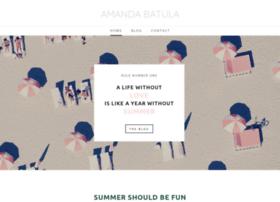 amandabatula.com
