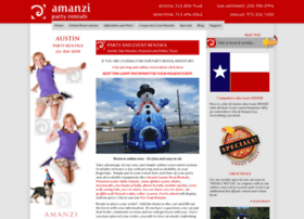 amanzipartyrentals.com