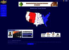 americantimezones.com