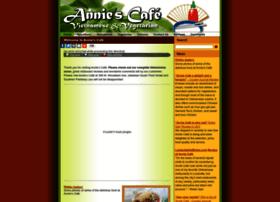 anniecafe.com