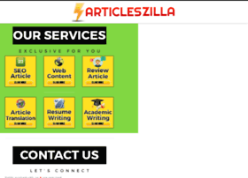 articleszilla.com