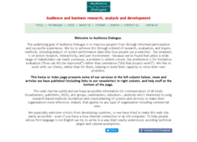 audiencedialogue.net