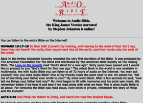 audio-bible.com