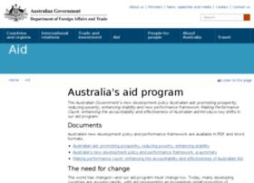 ausaid.gov.au