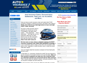 auto-insurance-claim-advice.com