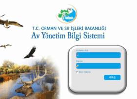 avbis.ormansu.gov.tr