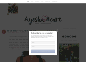 ayeshaheart.com