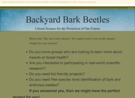 backyardbarkbeetles.org