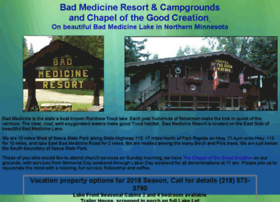 badmedicineresort.com