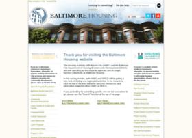 baltimorehousing.org