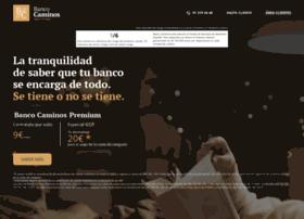 bancocaminos.es