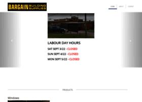 bargainbuildingsupplies.ca