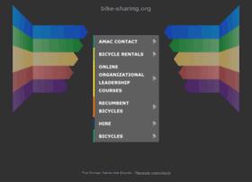 overview of bikeshare website
