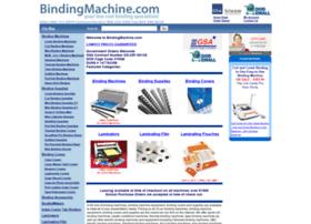 bindingmachine.com
