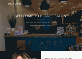 bladeshairsalon.net