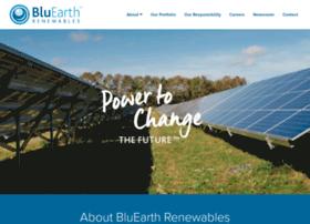 bluearthrenewables.com