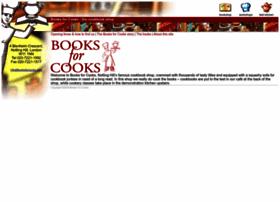 booksforcooks.com