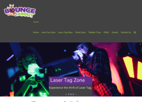 bounceaboutlasertag.com