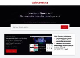 bowesonline.com