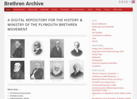 brethrenarchive.org