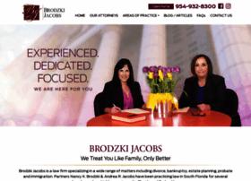 brodzkijacobsassociates.com