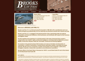 brookslawfirmpc.com