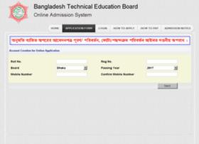 bteb.btebadmission.gov.bd