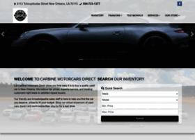carbinemotorcars.com