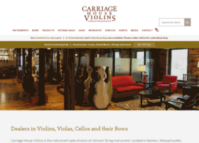 carriagehouseviolins.com