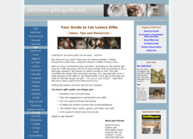 cat-lovers-gifts-guide.com