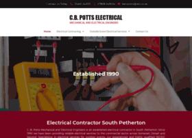cbpottselectrical.co.uk