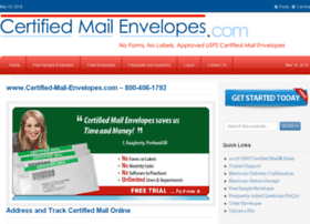 certified-mail-envelopes.com