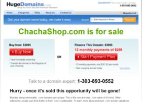 chachashop.com
