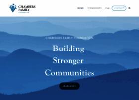 chambersfamilyfoundation.com
