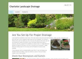 charlottelandscapedrainage.com