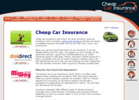 cheapcarinsurance.co.za
