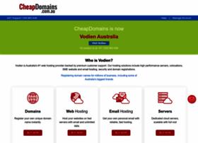 cheapdomains.com.au
